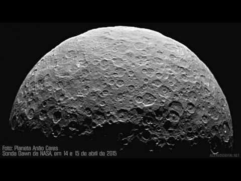 PLANETA CERES: IMAGENS 2015  - SONDA DOWN DA NASA