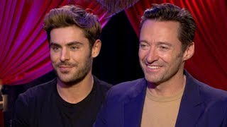 Hugh Jackman, Zac Efron, Zendaya on Creating the New Movie-Musical The Greatest Showman