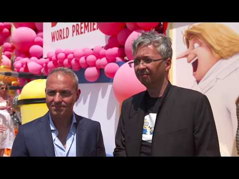 Despicable Me 3 World Premiere Los Angeles Interview Kyle Balda And Pierre Coffin (official Video)