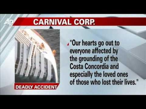 Couple Found in Italy Cruise Ship Grounding