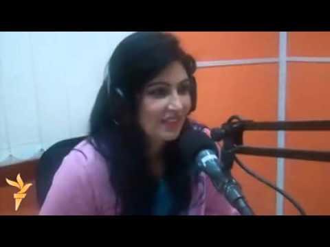 Naghma Jan Live Talking about Love on Mashal Radio, Afghanistan
