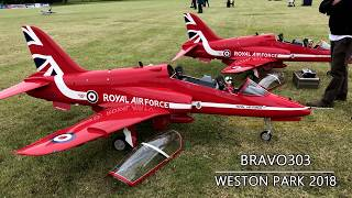 RC RED ARROWS Formation Flight RC Jet Turbine Steve & Matt Bishop