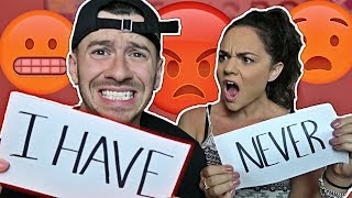 DIRTY NEVER HAVE I EVER CHALLENGE WITH MY GIRLFRIEND!! (SHE WANTS TO BREAK UP)