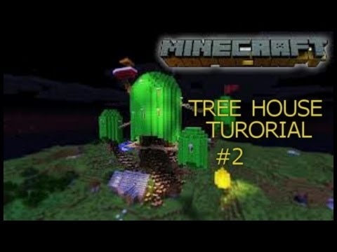 Minecraft Adventure Time Tree House Tutorial #2