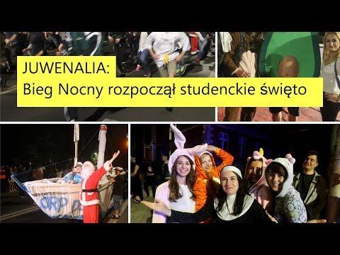 JUWENALIA 2018 W Szczecinie. Bieg Nocny Rozpoczął Studenckie święto