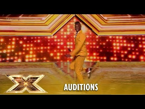 Olatunji Yearwood Brings The House Down Delivering A Carribean Taste! WOW! | The X Factor 2018