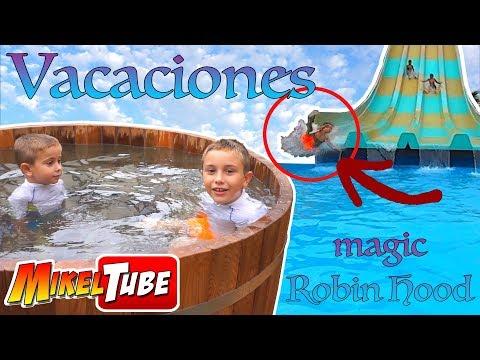Vacaciones en Un Resort Temático con parque acuático