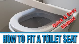 How to fit a new toilet seat | Tutorial | DIY Hacks