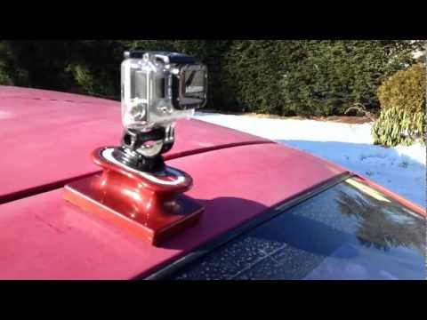 DIY Magnetic Gopro Mount