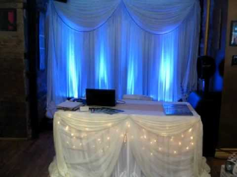 Best Wedding Reception Decor In New York Event Decoration Modern Elegant