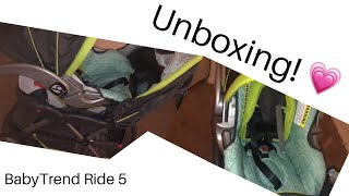 Baby Trend EZ Ride 5 Travel System (UNBOXING!)