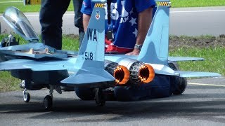 McDonnell Douglas F-15 Eagle Scale RC Turbine Model Jet with Afterburn Team USA