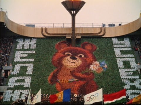 Moscow 1980 Olympic Games Closing Ceremony