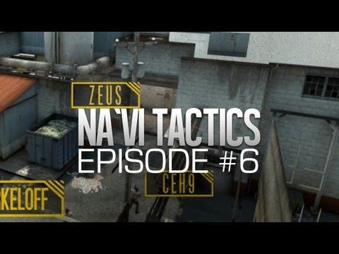 Na`Vi CS:GO Tactics: fake round @ de_train #6