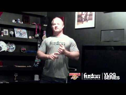 BARRY ANTONIOW VLOG SERIES EPISODE #3: 3 WEEKS OUT FROM THE 2012 ARNOLD CLASSIC