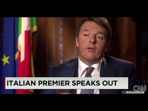 Intervista di Matteo Renzi alla CNN