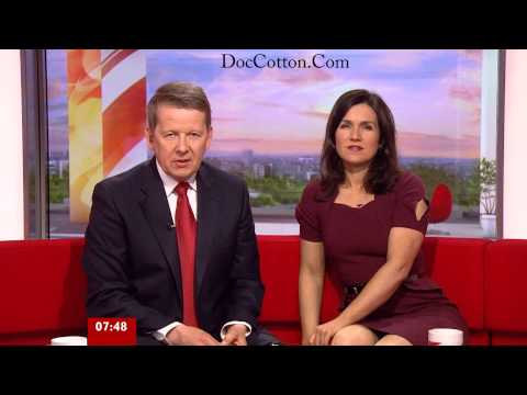 Susanna Reid Showing off her sexy legs in nylon stockings
