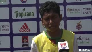 RFYS: Kolkata Jr. Boys - DAV Public School Kharagpur Interview