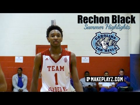 UNC Commit Rechon Black is a 6'7 Point Guard! Summer Highlights!