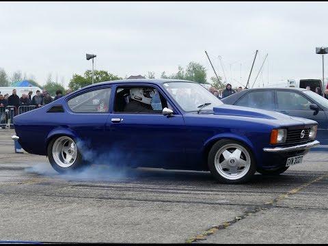 5 7l V8 Opel Kadett 1 4 Mile 12 80