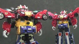 Power Rangers RPM Mini Megazord Toys 파워레인저 엔진포스 장난감