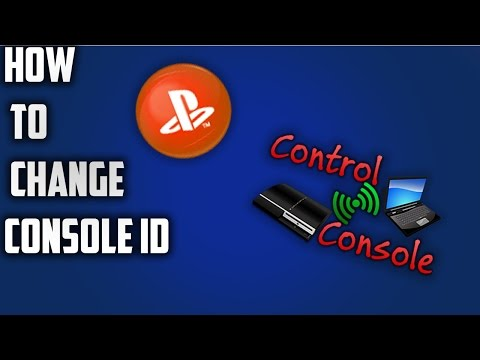 How to change your console id on ps3