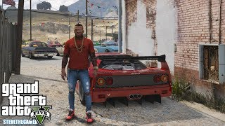 GTA 5 REAL LIFE MOD #636 - FERRARI FRIDAY(GTA 5 REAL LIFE MODS) F40