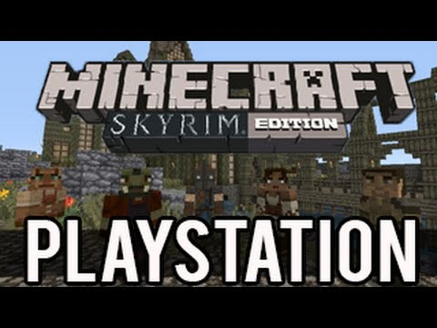 Minecraft Playstation 3 Texture Pack/Skin Pack - Skyrim (Research)