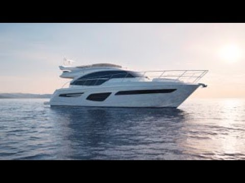 All New! 2018 Princess 55 FLY