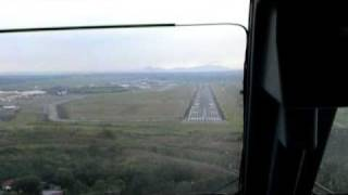 Embraer 190 landing at Tocumen international airport