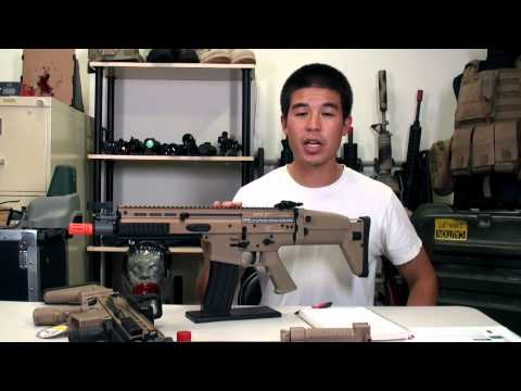 Airsoft GI - FN Herstal SCAR CQC AEG By G&G Review