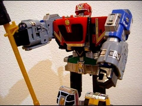 Deluxe Omega Megazord - CollectionDX