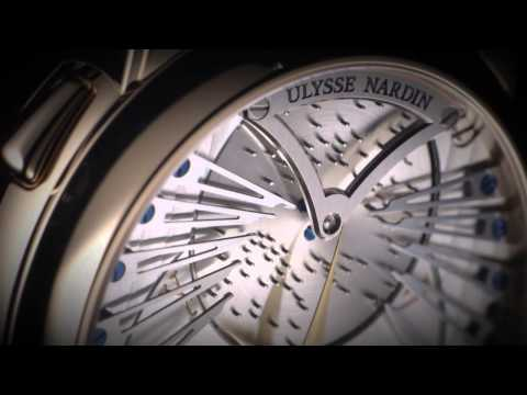 Ulysse Nardin Stranger music box wristwatch plays Vivaldi