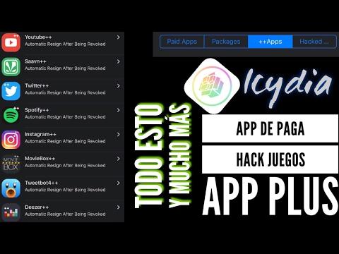 Como instalar icydia en tu iPhone , iPad y iPod No jailbreak y no pc. Apps de paga, Apps ++ y más