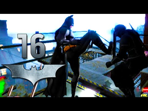 Road to Arkham Knight - Batman Begins -Narrowborough Bridge - Gameplay Walkthrough Part 16