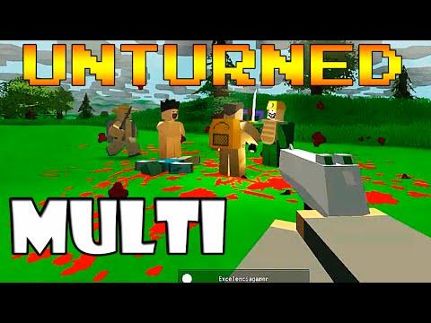 O Resgate - Unturned em Multiplayer =]
