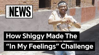 """Download Lagu Shiggy Explains How He Created The """"In My Feelings"""" Challenge 