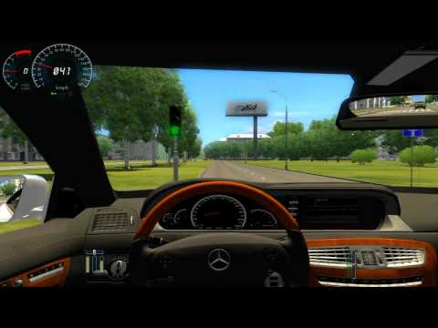 City Car Driving - Cl 65 Amg - Logitech G25