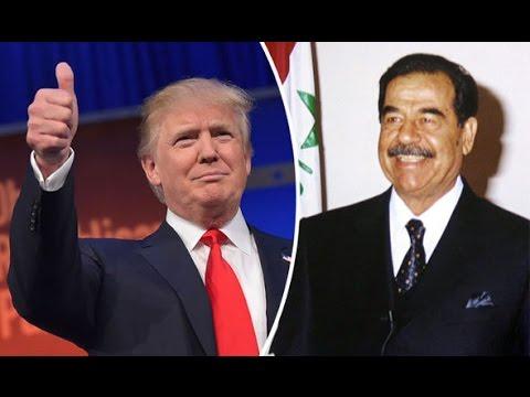 Trump On Saddam Hussein & Iraq