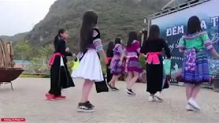 Cộng Đồng Mạng Gây Xôn Xao : Điệu nhảy làm tan chảy bao trái tim của Nhóm Thung Lũng Hoa Bắc Hà