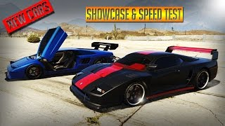 GTA 5 - UPCOMING DLC CARS SHOWCASE & SPEED TEST - CLASSIC TURISMO & INFERNUS