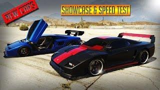 GTA 5 - UPCOMING DLC CARS SHOWCASE & SPEED TEST - CLASSIC TURISMO & INFERNUS