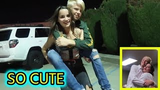 ANNIE LEBLANC AND CARSON LUEDERS CUTE MOMENTS   JULY 17th   Week.ly Musical.ly