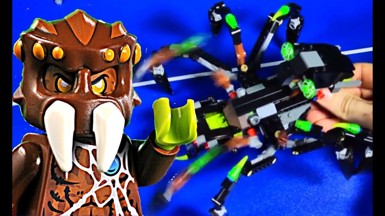 Lego Chima Sparratus Lego Chima 70130 Sparratus