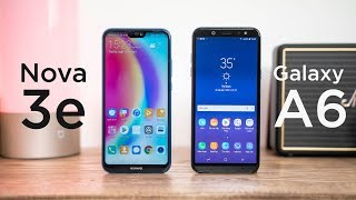 So sánh chi tiết Huawei Nova 3e và Samsung Galaxy A6