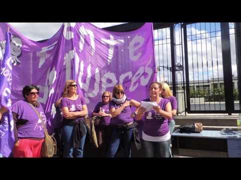 Viaje a Río Gallegos Mausoleo Néstor Kirchner. Frente de Mujeres Evita