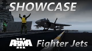 "ArmA 3 Jets DLC - Showcase : ""Fighter Jets"" (1.70 RC, HOTAS & TrackIR)"