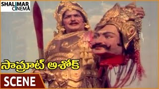 Samrat Ashok Movie    NTR & Maurya Empire Amazing Kalinga War    NTR    Shalimarcinema