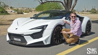 My FIRST DRIVE in the W Motors FENYR SUPERSPORT!