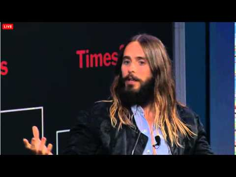 TIMES TALKS CONVERSATION WITH JARED LETO